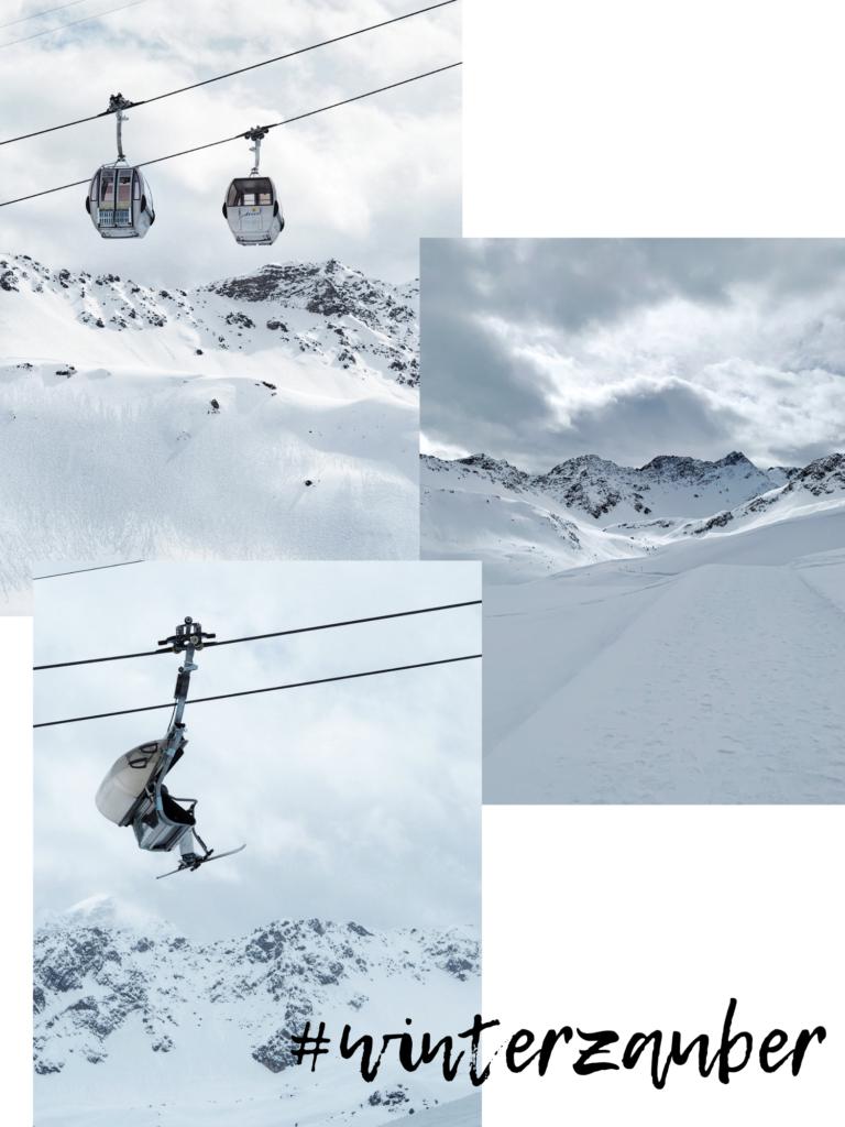 Winterlandschaft Arosa Valsana Hotel Schneeschuwanderung